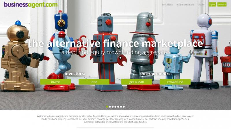 businessagent.com website designed by EQ Creative