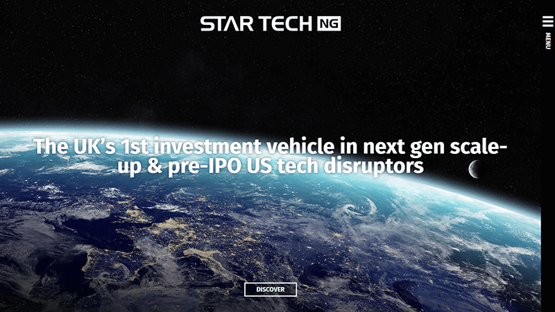StarTech NG website designed by EQ Creative